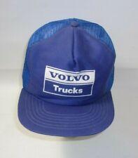 Vintage Volvo Trucks Trucker snapback Hat U.S.A. Cap