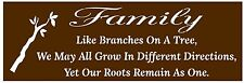 Primitive Stencil For Signs, Family Like Branches On A Tree, Quote (#614)