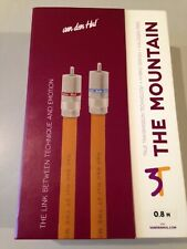 Van Den Hul The Mountain RCA Audio Interconnect Cable 0.8 meters PAIR