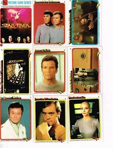 1979 STAR TREK COLONIAL TRADING CARD SET (33) D-3