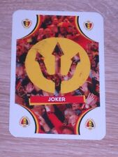 JOKER - Carte JUPILER Card NO PANINI Belgique Belgium Diables Rouges Brésil 2014