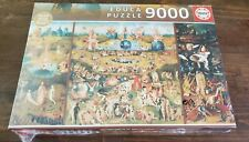 NEW 9000 Piece Jigsaw Puzzle Educa The Garden of Earthly Delights European HUGE!