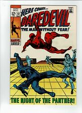 Marvel Daredevil #52 1969 w/ Black Panther in great shape