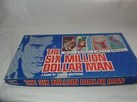 1975 SIX MILLION DOLLAR MAN BOARD GAME PARKER BROTHERS NICE CONDITION