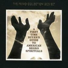 Various Artists : A First-time Buyer's Guide to American Negro Spirituals CD