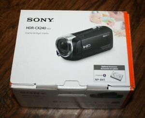 New Sony Handycam Camcorder HD 1080p HDR-CX240 /L Video Recorder 27x Zoom