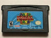 Mario Pinball Land (Nintendo Gameboy Game Boy Advance GBA) Cart Only