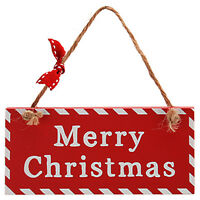 CHRISTMAS HANGING / Accessory Gift Tag Tree Wall Plaque Home Hanger Decoration