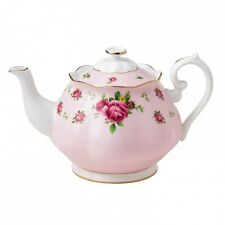 Royal Albert NEW COUNTRY ROSES Pink TEAPOT  TEA POT - NEW!