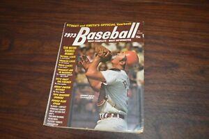 1973 Baseball Street & Smith's Yearbook Magazine Johnny Bench Cincinnati Reds