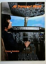 AIR TRANSPORT WORLD APRIL 1980 MAGAZINE
