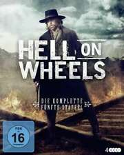 Hell on Wheels - Staffel 5 - Anson Mount, Colm Meaney - 4 Blu Ray