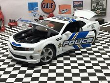 1/18 Scale 2010 Chevy Camaro SS RS Police Car Diecast Cruiser V8 No Reserve