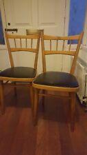 2 mid-century 1960s Kitchen Dining chairs