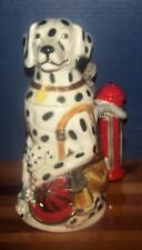 FIREMAN DALMATIAN & ROOKIE Stein! 5TH ED MAN'S BEST FRIEND M CORNELL GERMAN #400