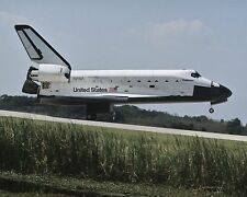 Space Shuttle Challenger lands at Kennedy Space Center after STS-41G Photo Print