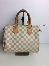 Authentic Louis Vuitton Speedy 25 Damier Azur. Ex Cond. Dustbag