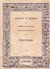 BUSSER ANDANTE & SCHERZO Trumpet