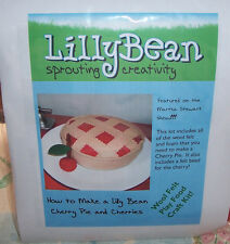 Cherry Pie Felt Kit Lilly Bean  Sprouting Creativity NIP