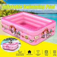 3 Layer Inflatable Baby Tub Travel Bath Kid Bathtub Shower Newborn Swimming Pool
