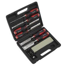 Sealey AK9240 Hammer-Thru Wood Chisel 8pc Set HDT21