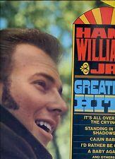 HANK WILLIAMS JR greatest hits US EX LP