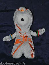 Peluche Doudou Wenlock Mascotte Jeux Olympiques De Londres 2012 22 Cm Etat NEUF