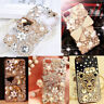 3D Hot Handmade Luxury Bling Jewelled Rhinestone Diamond Crystal Soft Case Cover