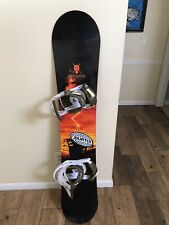 New listing Rossignol Imperial Series 161cm Snowboard And FS Burton Bindings Free Shipping!
