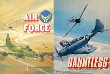 Avalon Hill Air Force - Dauntless Air Combat Game PDF Reference Disc + Free P+P