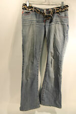 Miss Sixty Womens Jeans Includes Belt Size 28 Used Condition