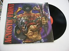AGNOSTIC FRONT - WARRIORS - LP BLACK VINYL LTD. EDITION 2015 NEW UNPLAYED