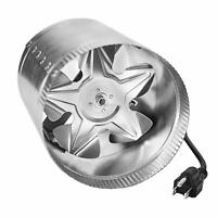 iPower ETL Certified 6 Inch Booster Fan Inline Exhaust Blower for Ducting Vent