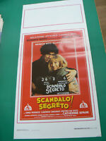 LOCANDINA manifesto SCANDALO SEGRETO! drammatico regia Monica Vitti 1989
