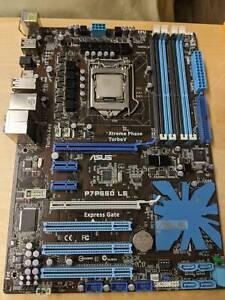 Asus P7P550 Intel i7 870 and Corsair RAM