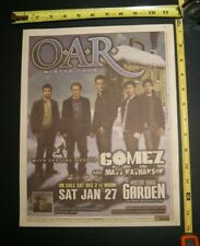 O.A.R. Oar Band 2006 Winter Tour Concert Ad Msg Nyc