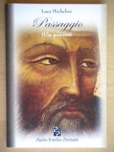Passaggio Un poemaMichelini LucaPersiani poesia religione Pasqua letteratura