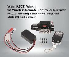 Warn 9.5 Winch W/ Wireless Remote Controller Receiver For 1/10 RC Crawler Y2C3