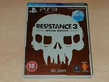 Resistance 3 Steelbook Special Edition PS3 Playstation 3