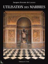 Utilisation des marbres, livre de J. D. de Lassale