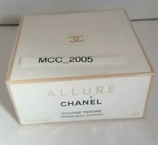 Authentic CHANEL ALLURE After Bath Pressed Tender Body Powder New discontinued