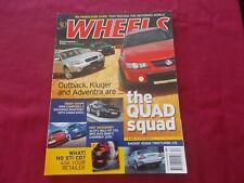 Wheels Magazine  December  03