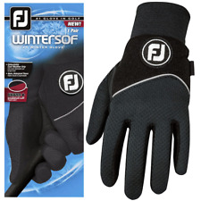 FOOTJOY Wintersof® MENS THERMAL GOLF GLOVES / WATERPROOF FLEECE GOLF GLOVES PAIR