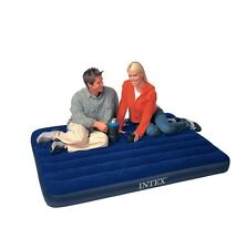Intex 68758 Downy Full Airbed Inflatable Full Size Air Mattress