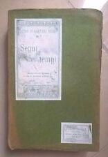 SEGNI DEI TEMPI GAETANO NEGRI HOEPLI 1909