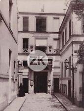 GRAND GUIGNOL Théâtre Pièces Macabres Architecture Cité CHAPTAL Paris Photo 1900