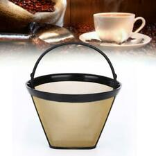 Universal Reusable Coffee Filter Basket Stainless Steel For CUISINART KRUPS