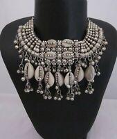 Necklace Bib Choker Vintage Boho Gypsy Hippie Fashion Jewelry