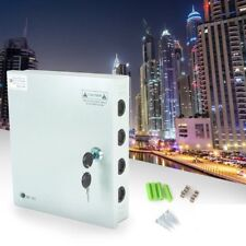 9CH Channel Power Supply Box For CCTV Camera Security Surveillance 12V 10A