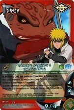 NARUTO CARD GAME Quarto Hokage & Gamabunta NI-391 FOIL NEW MINT RARE